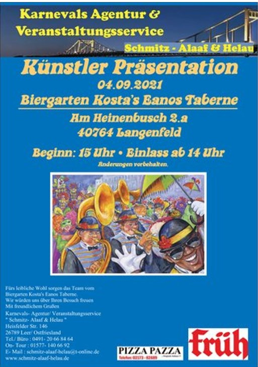 Karneval Langenfeld Karobuben Partyband
