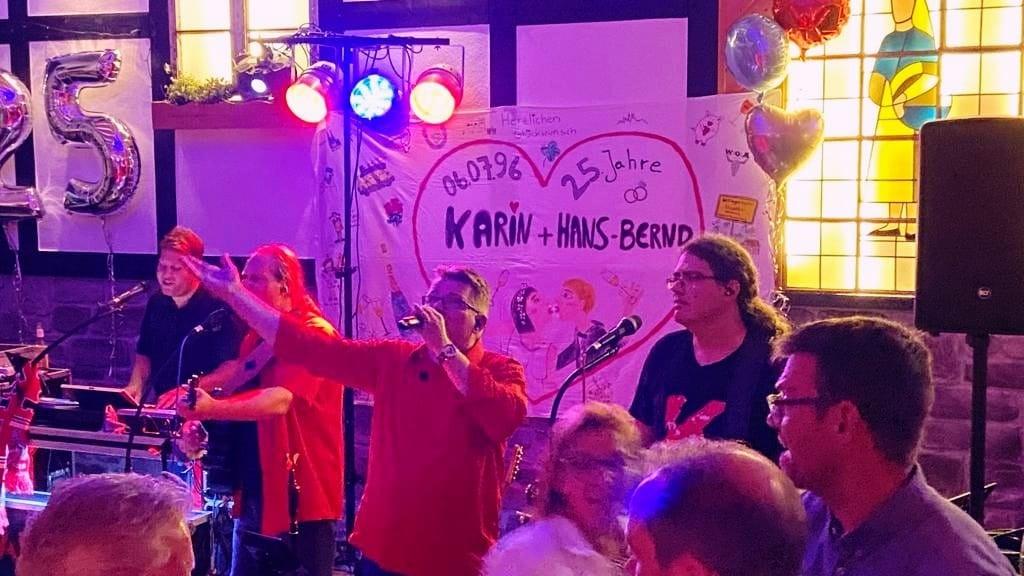 Partyband NRW RLP Eifel Westerwald Mosel